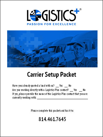 Become a Carrier | Steady Freight, Prompt Pay - Logistics Plus