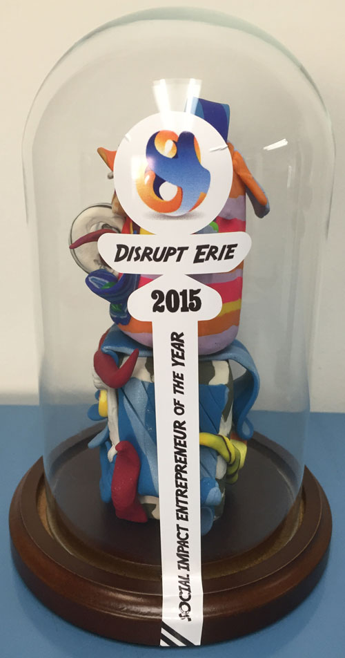 Distrupt-Erie-Trophy