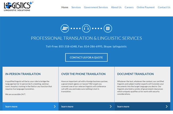 Linguistic-Solutions-Website
