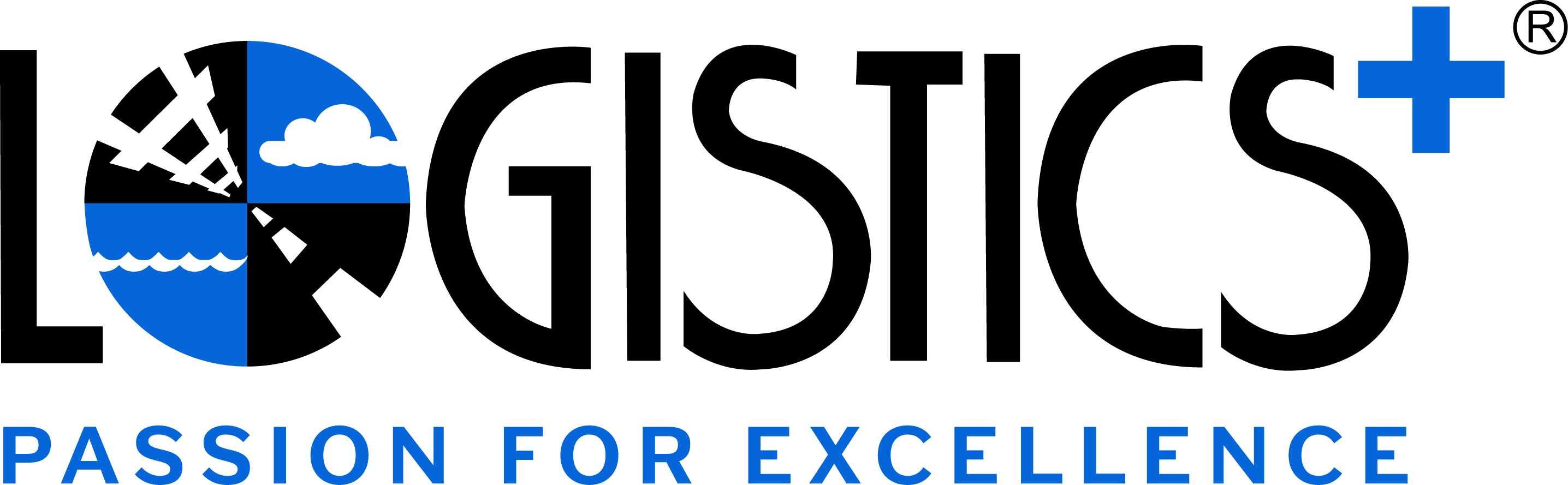 Logistics Plus Logo - slogan
