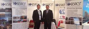 Bahadir and Basar at Nuclear Power Expo
