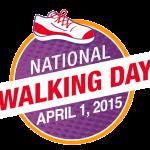 National Walking Day Logo