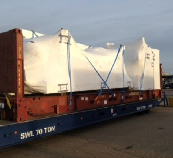 Wastewater modules UK to Singapore