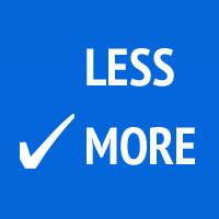 more-vs-less