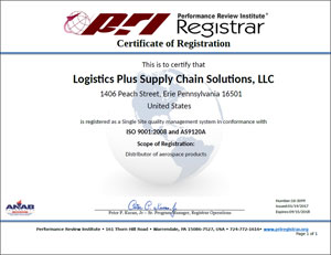 iso certification supply chain management