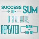 Success-Sum-of-Small-Parts