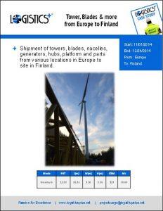 Project Cargo Portfolio - Logistics Plus