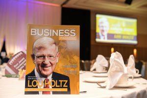 Lou Holtz table