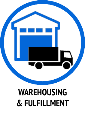 Warehousing and Fulfillment Icon