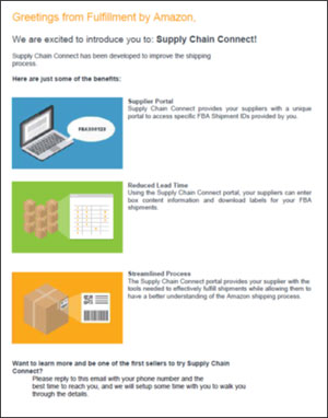 Amazon Supply Chain Connect Flyer Thumbnail