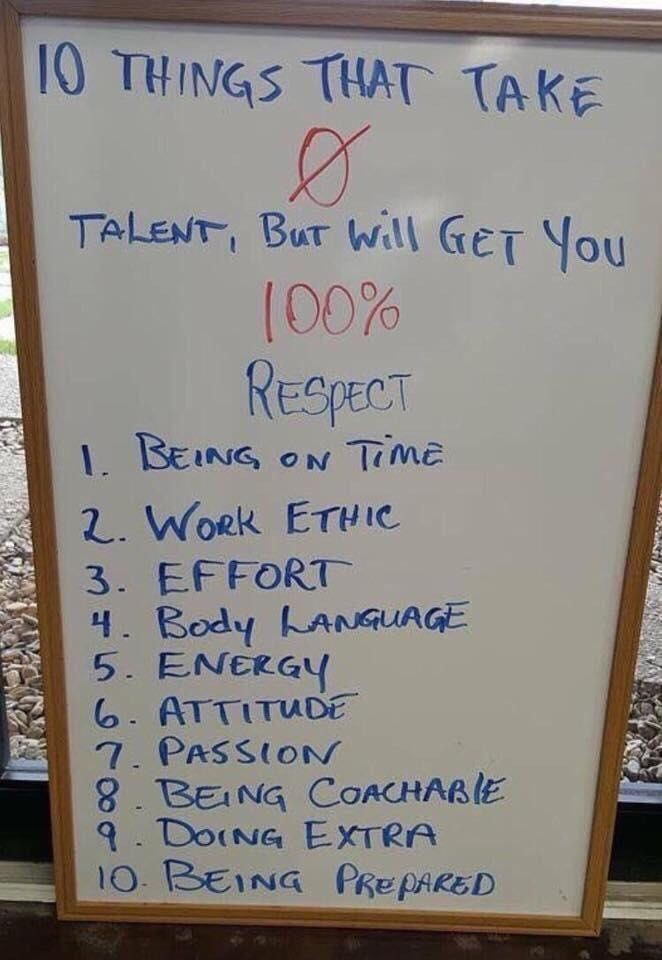 10 Things That Take 0 Talent