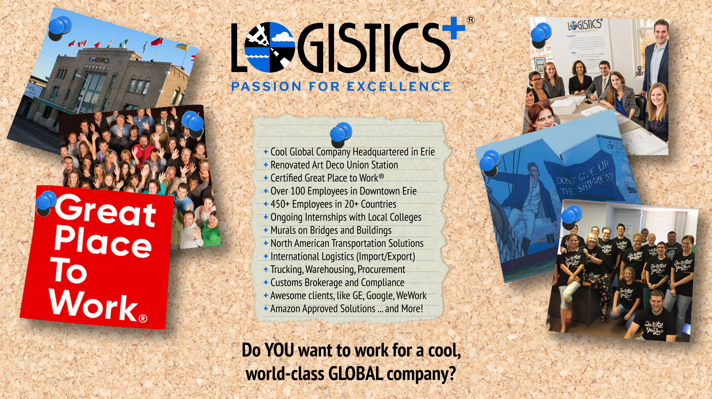 Ready for a fun career in logistics? - Logistics Plus