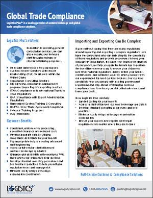 LP Global Trade Compliance Flyer Thumbnail