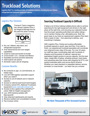 LP Truckload Flyer Thumbnail