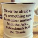 Never Be Afraid