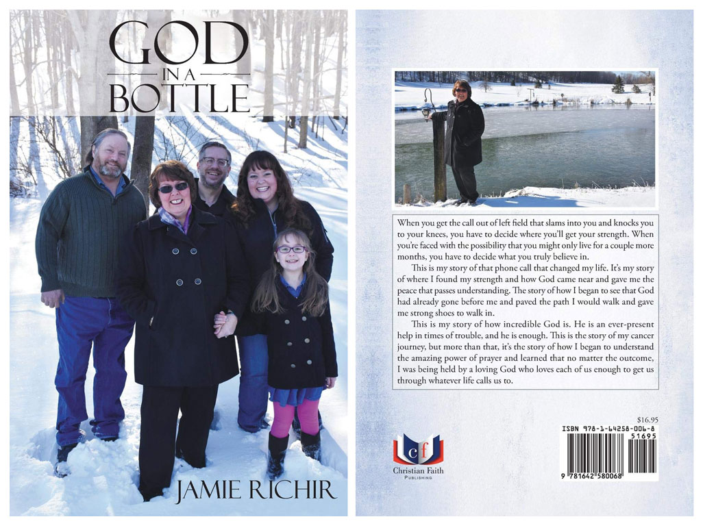 God in a Bottle by Jamie Richir