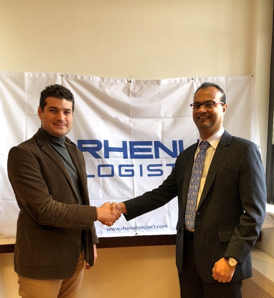Company Directors seal partnership at the Rhenus Project Logistics America Headquarters in New York, NY