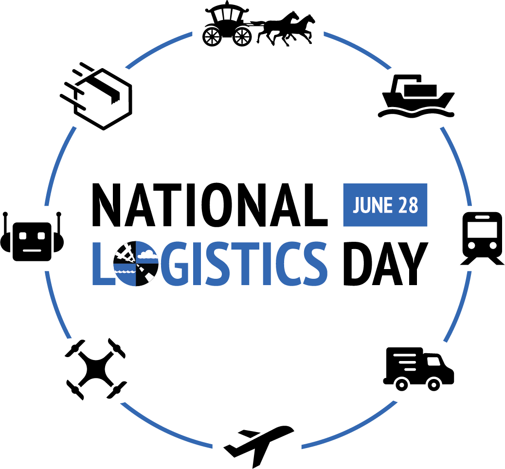Today, June 28th, is NATIONAL LOGISTICS DAY!