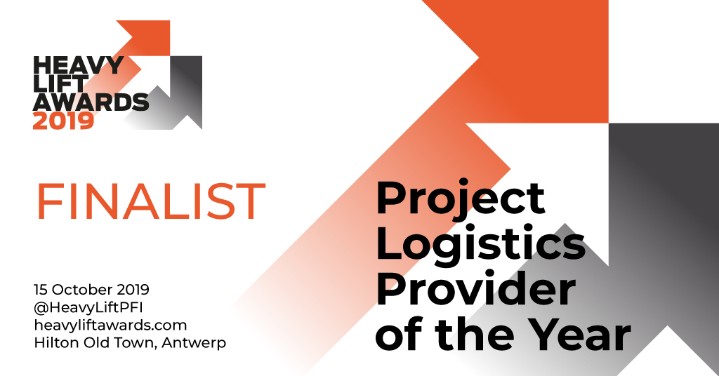 HLPFI Project Logistics Provider of the Year Finalist 2019 horizontal