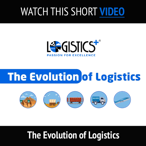 The Evolution of Logistics Video Banner