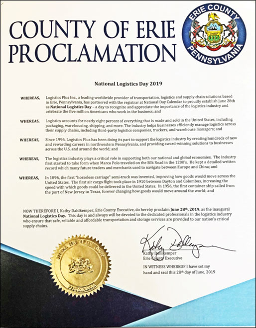 Erie County Proclamation Thumbnail