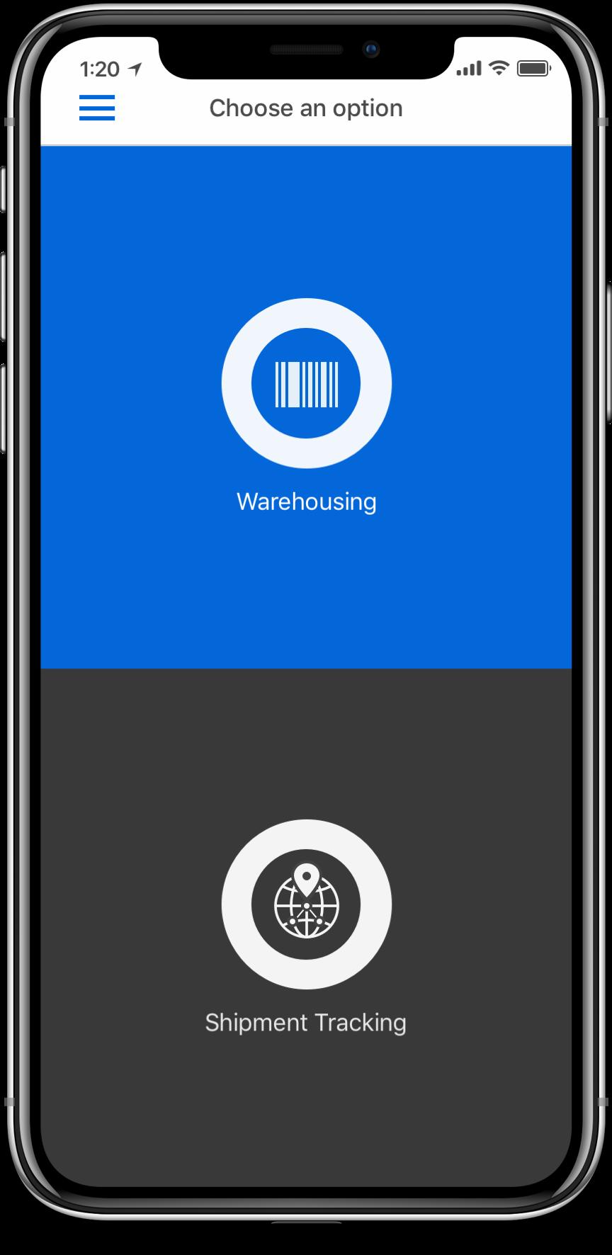 Logistics Plus Mobile App