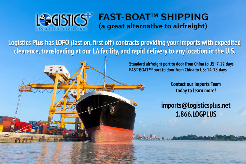 LP-Fast-Boat-Shipping Airfreight Alternative