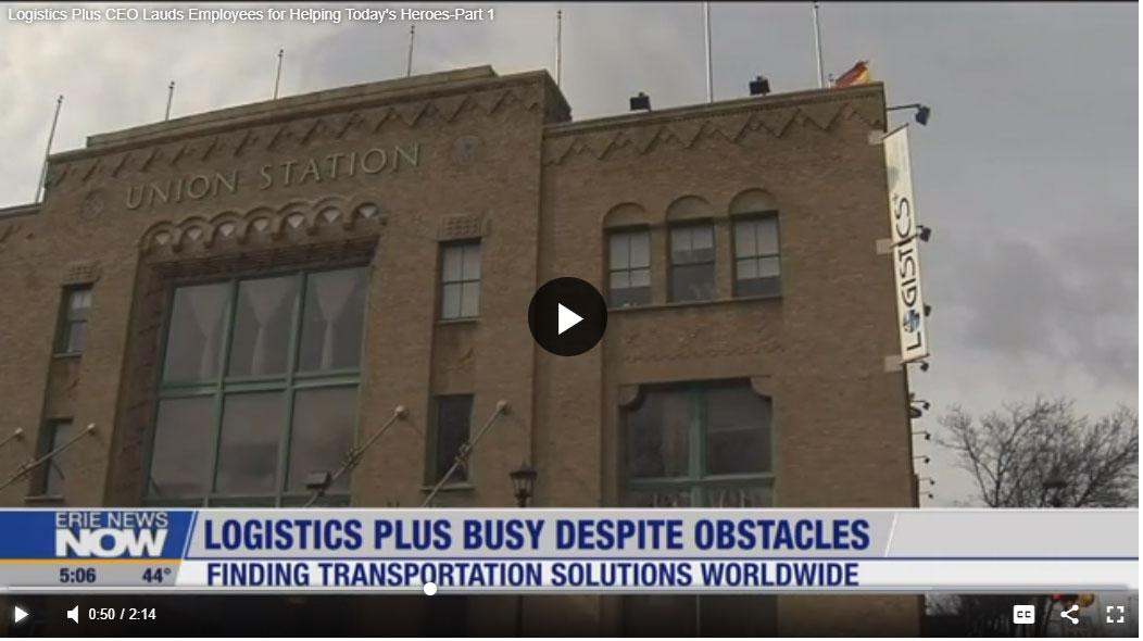 Logistics Plus CEO Lauds Employees Part 1