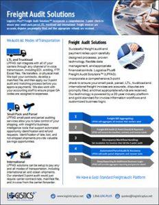 LP Freight Audit Solutions Flyer Thumbnail