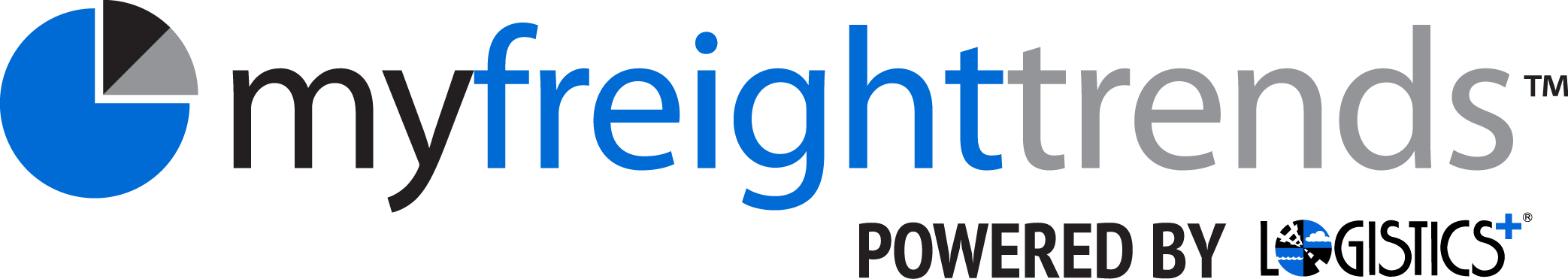 MyFreightTrends Logo Powered by Logistics Plus