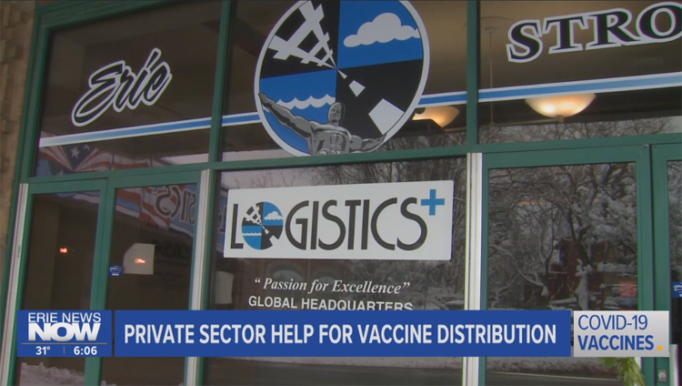 Gretchen Seth Discusses Covid-19 Vaccine Distribution on Erie News Now