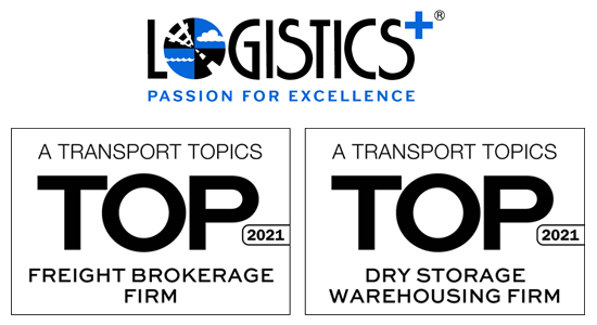 Logistics Plus Top 3PL for Freight Brokerage and Dry Storage Warehousing