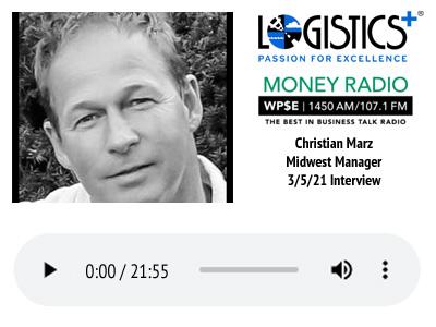 Business Spotlight Podcast - Christian Marz 3-5-21