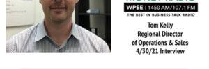 Business Spotlight Podcast - Tom Kelly 4-30-21