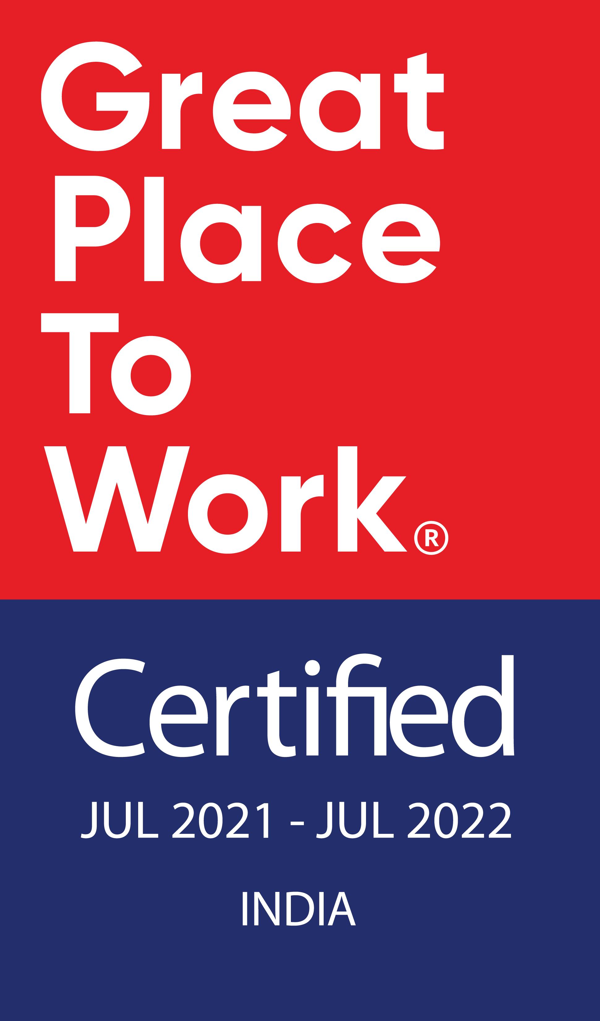 GPTW India Jul21-Jul22 Logo