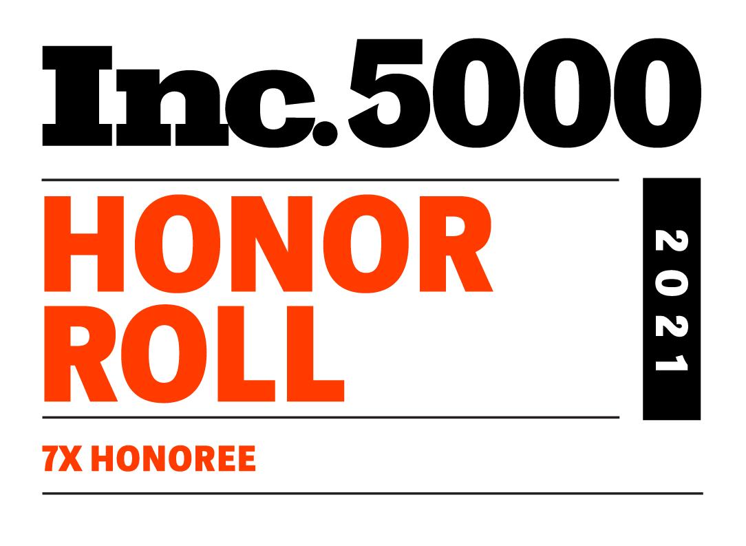 Inc. 5000 2021 7-Time Honoree