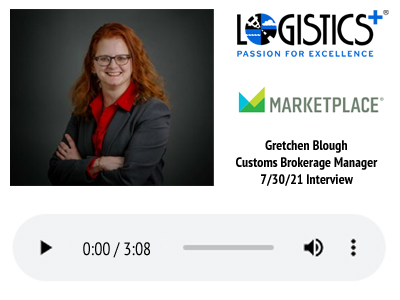 Marketplace Podcast - Gretchen Blough 7-30-21